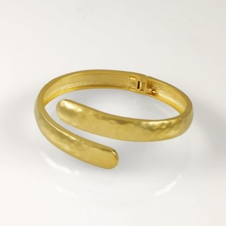 Ralph Lauren Hammered Gold Bangle