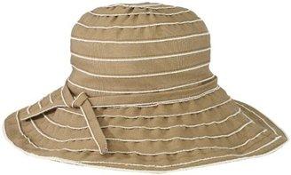 San Diego Hat Company San Diego Hat Women's Frayed Edge Ribbon Floppy Hat