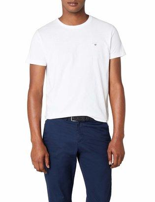 Gant Men's SOLID T-SHIRT Plain Crew Neck Short Sleeve T-Shirt