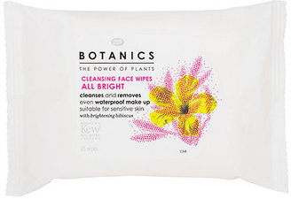 Boots All Bright Cleansing Face Wipes 25 ea