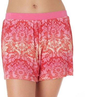 Jockey pajamas: modern brenda floral pajama shorts - women's