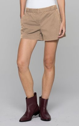 Theory Roushy L Short in Mauritius Cotton Blend