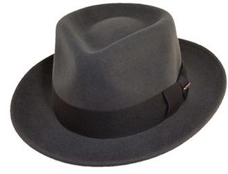 Men's Scala Classico Wool Felt Fedora - Grey $46 thestylecure.com