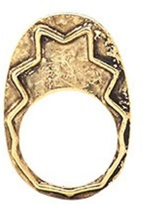 House Of Harlow Zig Zag Stacking Ring