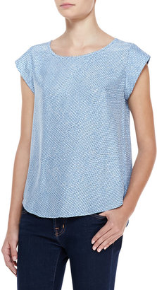 Joie Rancher B Printed-Silk Top