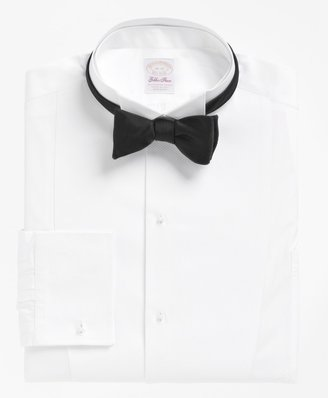 Brooks Brothers Golden Fleece French Cuff Tuxedo Shirt With Detachable Collar