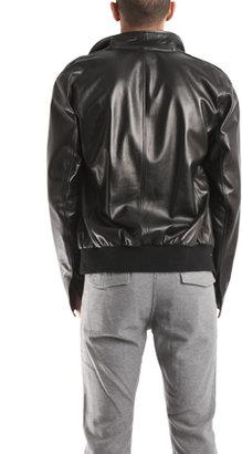 Simon Spurr Glove Leather Bomber Jacket