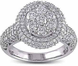 JCPenney MODERN BRIDE 2 CT. T.W. Diamond 10K White Gold Bridal Ring