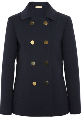 Michael Kors Double-breasted wool-blend jacket