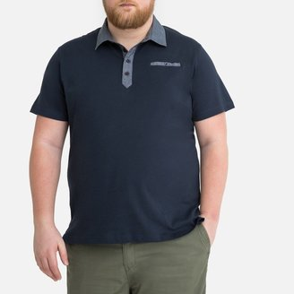 La Redoute Collections Plus Cotton Polo Shirt with Short Sleeves