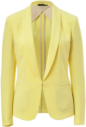 Rag and Bone Rag & Bone Crepe Shawl Collar Blazer