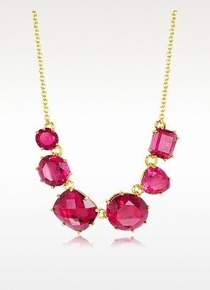Les Nereides La Diamantine Faceted Glass Necklace