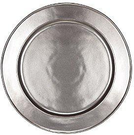 Juliska Pewter Stoneware Round Charger