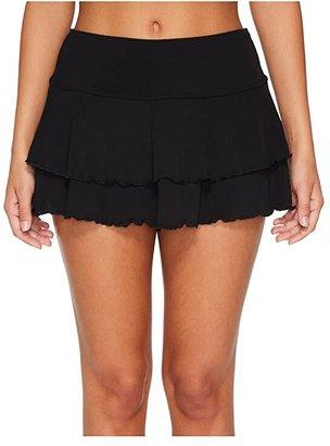 Body Glove Smoothies Lambada Skirt (Black) Women's Swimwear