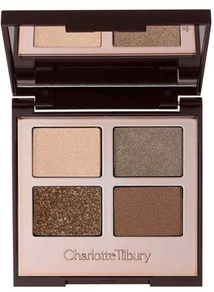 Charlotte Tilbury 'Luxury Palette - The Golden Goddess' Color-Coded Eyeshadow Palette - The Golden Goddess $53 thestylecure.com
