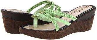 Patrizia Sisal (Green) - Footwear