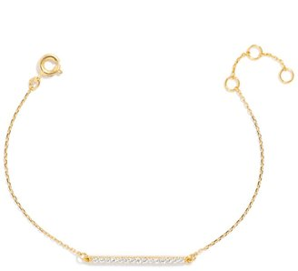 Ice Slim Bar Bracelet $32 thestylecure.com