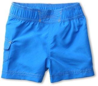 Columbia Kids - Solar Stream Boardshort (Toddler) (Hyper Blue) - Apparel