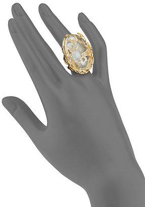 Alexis Bittar Sparkle Vine Ring