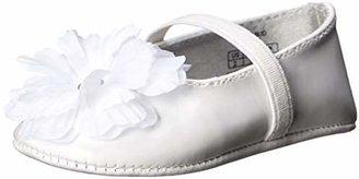 Stuart Weitzman Layette Baby Bud Ballet Flat (Infant/Toddler)