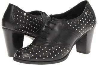 Bass Eloise (Black/Black (Studs)) - Footwear