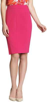 Jones New York Collection Plus-Size Slim Skirt with Side Panels