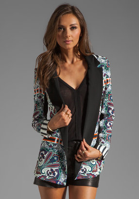 Clover Canyon Paisley Road Soft Suiting Blazer