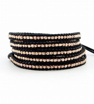 Chan Luu Rose Gold Wrap Bracelet