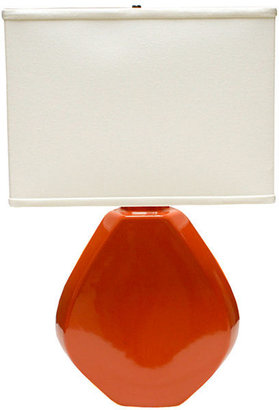 JCPenney Ceramic Octagon Table Lamp