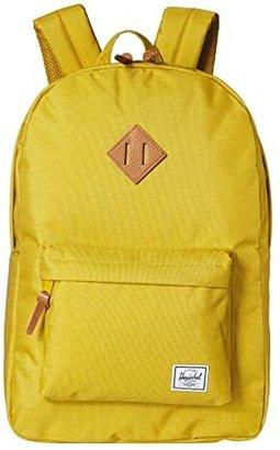 Herschel Heritage (Navy/Tan) Backpack Bags