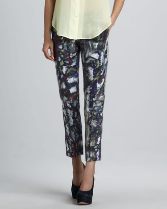 Theyskens' Theory Padgette Printed Pants