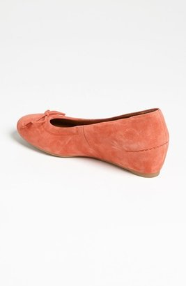 Paul Green 'Rave' Wedge Peach Suede 8 M