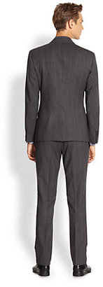 Dolce & Gabbana Pinstriped Wool Suit