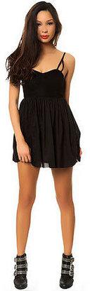 One Teaspoon The Black Kiss Mini Dress