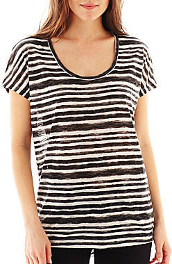 Mng by Mango Short-Sleeve Striped Tee
