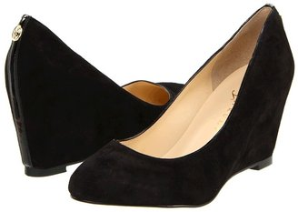 Ivanka Trump Linear (Black Multi Suede) - Footwear