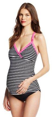 Ripe Maternity Women's Maternity and Nursing Candy Two Piece Tankini