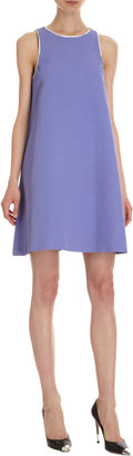 Lisa Perry Piped Racerback Dress