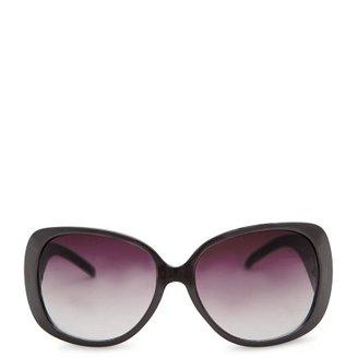 MANGO Retro maxi-sunglasses