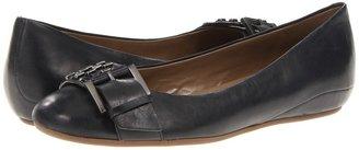Ecco Owando Slip On Buckle (Black Emotion) - Footwear