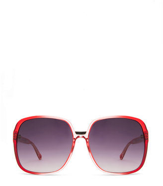 Matthew Williamson Gradient Sunglasses in Coral