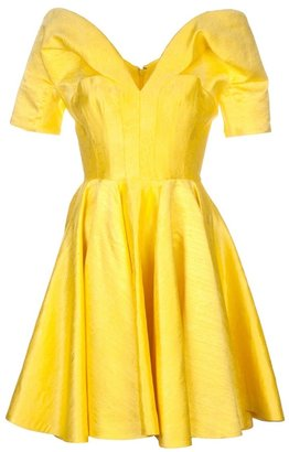 Alexander McQueen Jacquard full dress