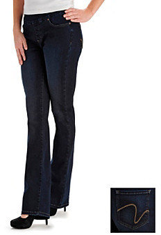 Lee platinum label Lee® platinum label Mid-Rise Denim Style-Up Abigail Barely Bootcut Jeans