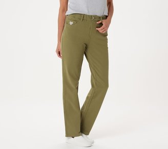 """Factory Quacker DreamJeannes"""" Pull-on Regular Straight Leg Pants"""