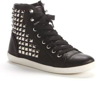Sugar oanna studded high-top sneakers - women