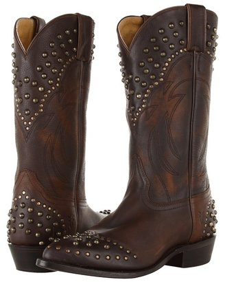 Frye Billy Studded (Maple Calf Shine Vintage) - Footwear