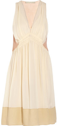 Vanessa Bruno Silk-georgette dress