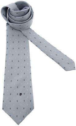 Pierre Cardin Vintage diamond print tie