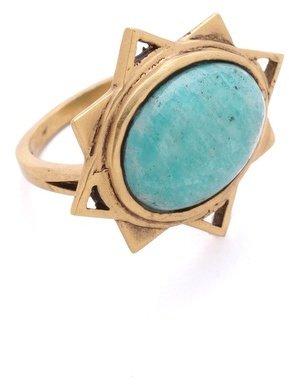 A Peace Treaty Badra Amazonite Ring