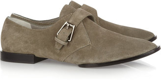 Alexander Wang Ruby suede monk shoes